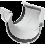 Gutter 135° external angle white system Rainway 130/100