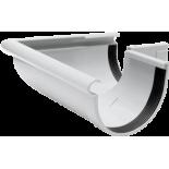 Gutter 90° external angle white system Rainway 130/100