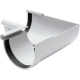 Угол желоба внутренний 90° белый - водосток Rainway 130/100