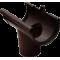 Воронка коричневая - водосток Rainway 90/75