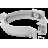 Pipe bracket white system Rainway 90/75