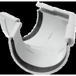 Gutter 135° external angle white system Rainway 90/75