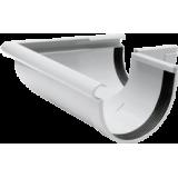 Gutter 90° external angle white system Rainway 90/75