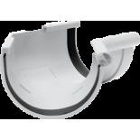 Gutter 135° internal angle white system Rainway 90/75