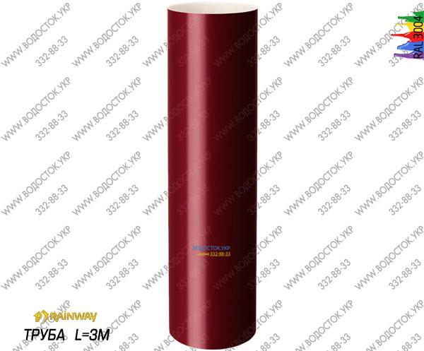Труба красная RAL 3004 цена
