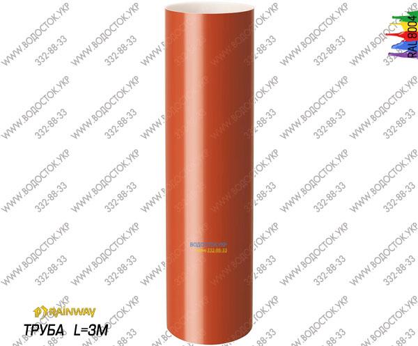 Труба терракотовая RAL 8004 цена