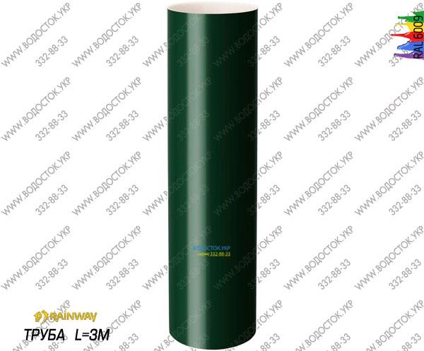 Труба зелёная RAL 6009 цена